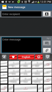 Download Chrome Style GO Keyboard Theme 1.0 APK