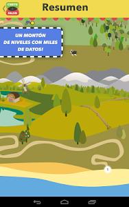 screenshot of Cierto o falso, saber es ganar version 2.4