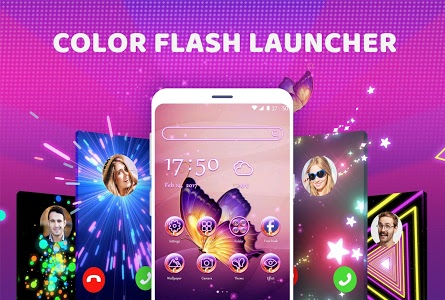 screenshot of Color Flash Launcher - Call Screen, Themes version 1.1.2