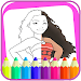 Download Coloring book moana 2.0.0 APK