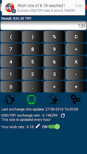 Download US Dollar to Turkish Lira or TRY to USD 1.5.8 APK
