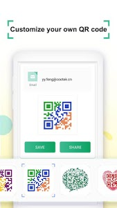 screenshot of Coreader- QR Code & Barcode Scanner version 1.3.0