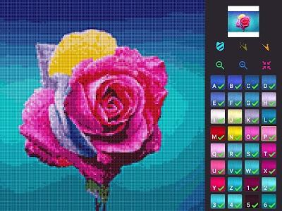 screenshot of Cross Stitch version 1.0.34