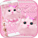 Download Cute Kitty theme Pink Bow Kitty 1.1.7 APK