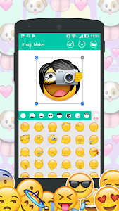 Download DIY Emoji Maker : Make emoji from your face 23 APK