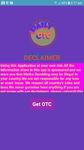 screenshot of DailyOTC version 2.0