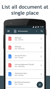 screenshot of Document Manager version 1.7