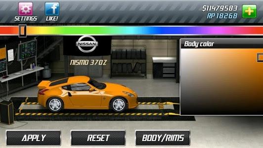 screenshot of Drag Racing version 1.7.74