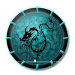 Download Magical theme: Abstract Dragon with Dark Cool Icon 3.9.5 APK
