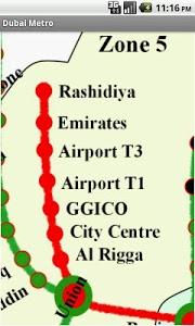 Download Dubai Metro Map (Free) 1.3 APK