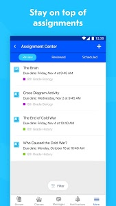 screenshot of Edmodo version 9.4.3