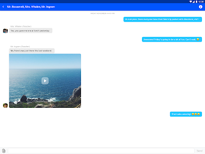 screenshot of Edmodo version 9.3.0