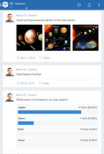 screenshot of Edmodo version 6.5.5