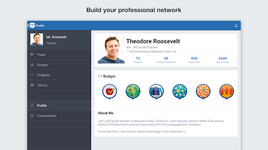 screenshot of Edmodo version 6.5.6