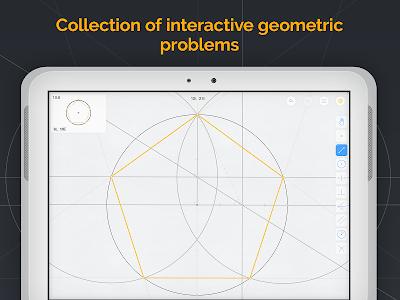 screenshot of Euclidea version 3.36