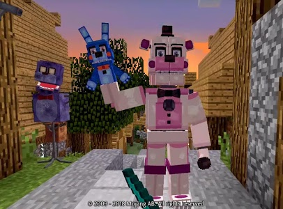 Download FNAF Addons for MCPE 1.14.70 APK