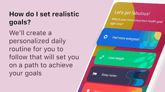 screenshot of Fabulous: Motivate Me! Meditate, Relax, Sleep version 3.53