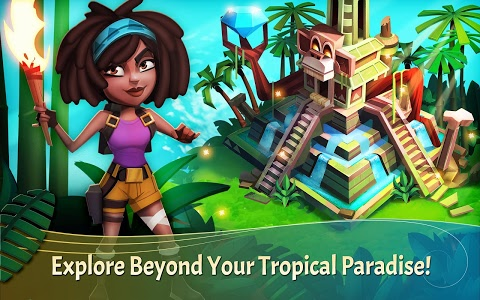 screenshot of FarmVille: Tropic Escape version 1.2.321
