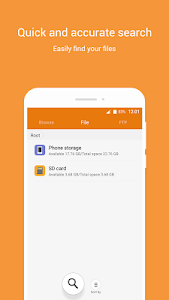 screenshot of File Manager version 8.1.31.15