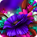 Download Themes app for Samsung S6 Purple Bloom flower 3.9.7 APK