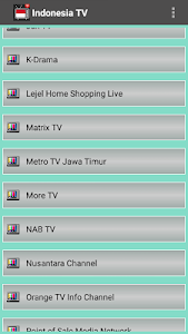 Download Free Indonesia TV Channel Info 1.1 APK
