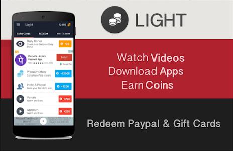 Download Light - Free Wallet Cash & Gift Cards 1.6 APK