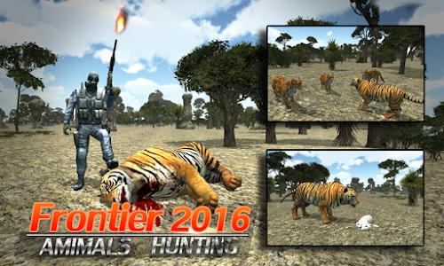 screenshot of Frontier Animals Hunting 2016 version 1.2.2