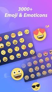 screenshot of GO Keyboard Lab - Emoji, GIF version 2.07