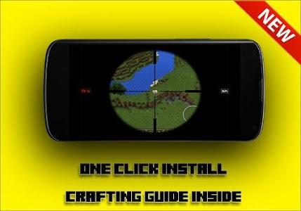 Download GUNS Mod for mcpe 1.10 APK