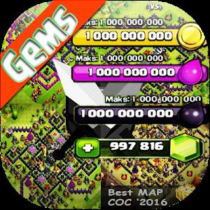 Download Gems Cheats for FHX COC Prank! 1.2.0 APK