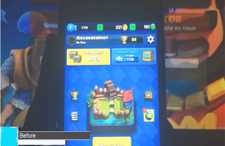 Download Gems Clash Royale prank 3.0 APK