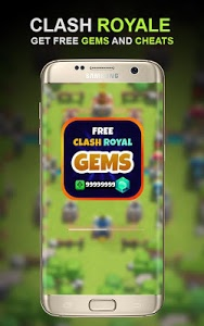 Download Gems Of Clash Royale Prank 1.0 APK