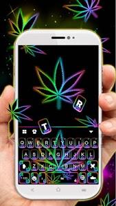 Download Glow Rasta Weed Keyboard Theme 18.0 APK