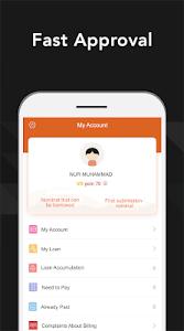 screenshot of GoRupee-Get Online Instant Personal Loans version 1.2.9
