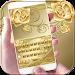 Gold Rose Keyboard Theme