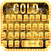 Download Gold keyboard theme 10001001 APK