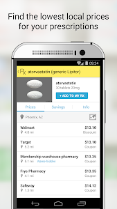 screenshot of GoodRx Drug Prices and Coupons version 3.2.3