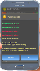 screenshot of Lucky tips Pacther version 3.0