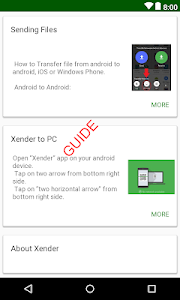 Download Guide & Tips Xender file transfer and share 1.1 APK