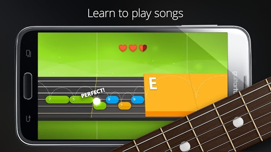 screenshot of Guitar Tuner Free - GuitarTuna version Varies with device