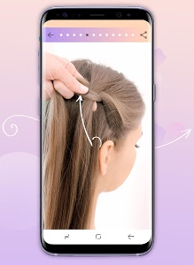 screenshot of Hairstyles step by step version 1.23