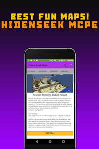Download Hide and Seek Minecraft Maps 1.6 APK