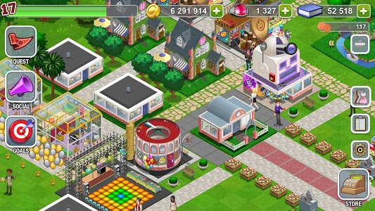 screenshot of High School Story version 2.9.1