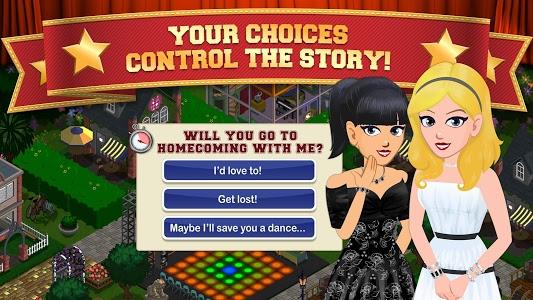 screenshot of High School Story version 4.8.0