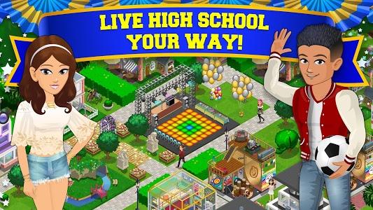 screenshot of High School Story version 3.9.0