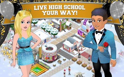 screenshot of High School Story version 3.4.0