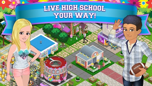 screenshot of High School Story version 3.7.0