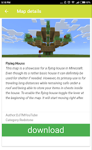 Download House maps for Minecraft PE 1.0.42 APK