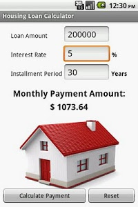 Download Housing Loan Calculator 1.23 APK