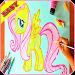 Download How To Draw Poni Horses EZ 1.7 APK